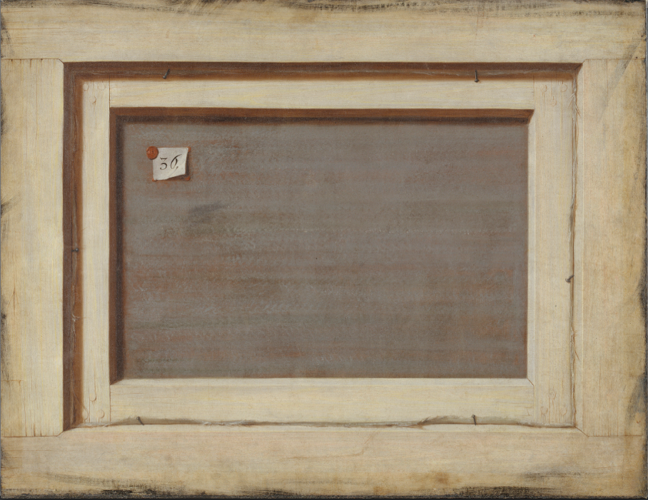 Gijsbrechts The Reverse of a Framed Painting 1670