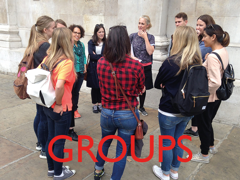 London Walking Tours for Groups
